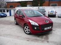 2012 Peugeot 3008 Crossover 1.6 e-HDi Auto Active DIESEL AUTOMATIC, FULL HISTORY