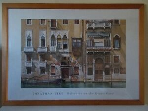 Art by Jonathan Pike - Balconies on the Grand Canal / Tableau