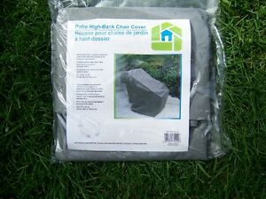 """Patio Chair High-back Protection Cover ~ 33"""" x 27"""" x 42"""""""