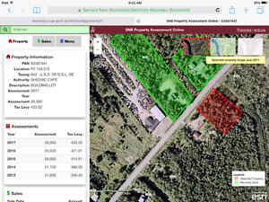 Wooded lot for building home - just out of town
