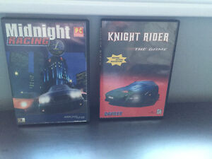 Midnight Racing and Knight Rider the game