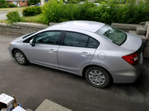 2012 Honda Civic with Safety. 6500