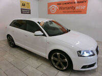 2011 Audi A3 2.0TDI 140 BLACK EDITION S/S S-T ***BUY FOR ONLY £48 PER WEEK***