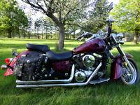 Look Harley Moto Unique Air Brush 5000$ négo ou échange