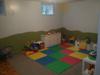 Registered (subsidy) Home Daycare!
