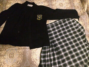 TLC Uniform Cardigan and Kilt