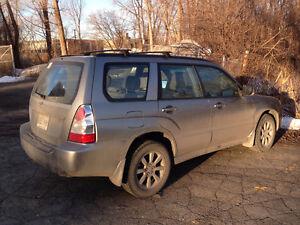 2007 Subaru Forester XS VUS