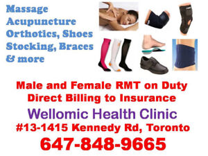 Massage direct billing to insurance, you don't need to pay
