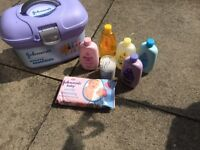 Johnsons baby essentials box
