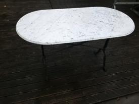 Marble Garden table