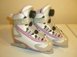 Reebok BOA Girl's Figure Skates Size 1