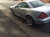 Mercedes slk 230 hard top convertible low miles cheap slk Px van car Swap