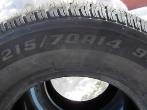 2 New 215/70/14 tires