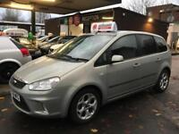Ford C-MAX Zetec 2008/08 PETROL MANUAL Spacious Family MPV only 46k Immaculate