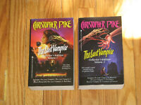 The Last Vampire THIRST by Christopher Pike Collector's Editions