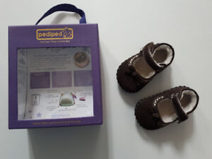 Brand new in Box Pediped Mary Jane style shoes 0-6m