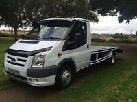 Ford transit recovery low miles full history