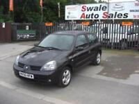 2006 RENAULT CLIO CAMPUS SPORT 1.1L IDEAL 1ST CAR - LOW INSURANCE GROUP