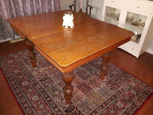 Antique dining table (must sell)