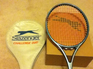 Slazenger squash racquet. Graphite. Brand new sealed with cover.