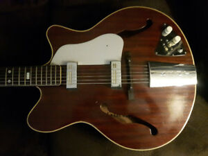 1960s Kent Americana 551 archtop guitar