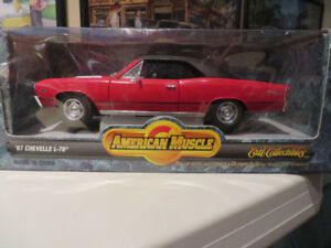 1967 Chevelle L-78 1:18 Scale Diecast Car-American Muscle