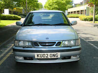 2002 02 Reg SAAB 9-3 2.2 TiD SE 3dr WITH FSH+2P/KEEPERS+LOVELY CAR