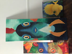 3 Limited Edition Prints by Charlotte Nicolin