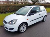 FORD FIESTA 1.2 STYLE CLIMATE - 3 DOOR - 2007 - WHITE **13,000 WARRANTED MILES**