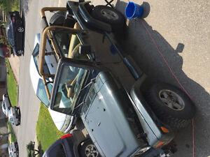 1997 Jeep TJ Coupé (2 portes)