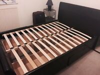 nearly new Double bed storage frame, central Brighton
