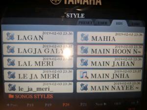 YAMAHA  INDIAN TABLA, DHOLAK, GHAZAL, NAAL, STYLES