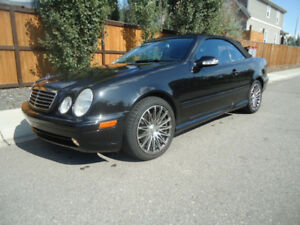 2002 Mercedes CLK AMG, non accident, active,, only 96200 kms, Bl