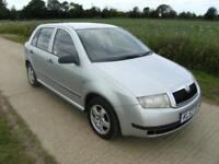 Skoda Fabia 1.4 Ltd Edn Silverline With 96k Miles