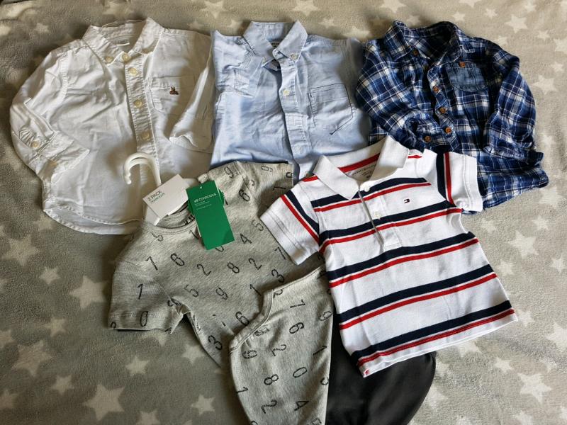 bd8fd7f7 Baby boy bundle 12-18 months incl. Tommy Hilfiger, Zara, Gap | in  Craigmillar, Edinburgh | Gumtree
