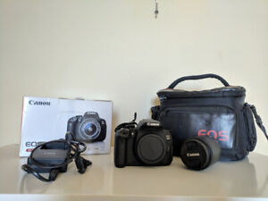CANON EOS REBEL T5i/700D camera with 18-55mm lens
