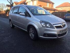 2007 Vauxhall Zafira 1.8 i 16v Design 5dr