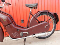 NEW HUDSON AUTOCYCLE 98cc 1958 IN SUPER CONDITION READY FOR FUN