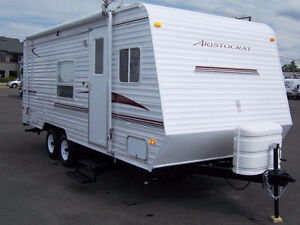 2009 Dutchmen Aristocrat 18B w Camp fire Package -used 48 nights