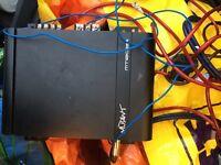 Amplifier for car, van