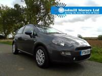 2014/14 FIAT PUNTO 1.3 MULTIJET LOUNGE 3DR (START/STOP) - LOW MILEAGE - ZERO TAX