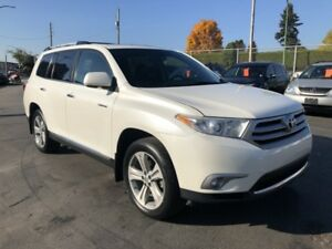 2012 Toyota Highlander Limited 4WD , Navigation, Backup Camera,7