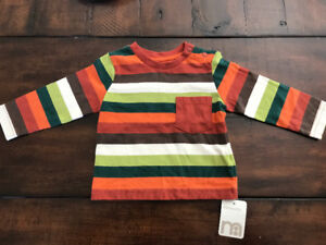 Mothercare top, size 3-6 mo, new with tag