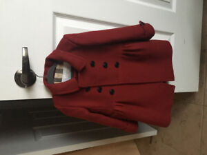 BURBERRY WINTER COAT TODDLER SIZE 3T never worn tabs attached