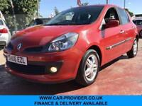 2006 RENAULT CLIO DYNAMIQUE 1.4 LOW MILES 2 KEY LONG MOT 5DR 98 BHP