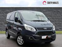 2013 63 Ford Transit Custom 2.2TDCi ( 125PS ) 270 L1H1 Limited AIR CON ALLOYS