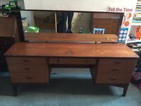 Vintage 70s style dressing table