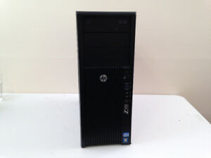 HP Workstation, 8-Core 3.5GHz, 64GB, 240GB SSD, No Tax, 4mo Warr