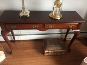 Front entrance/Side Table