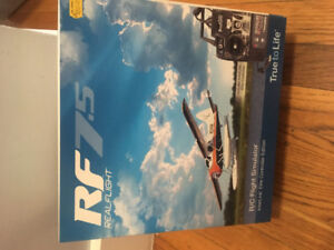 Real flight RF7.5 RC flight simulator